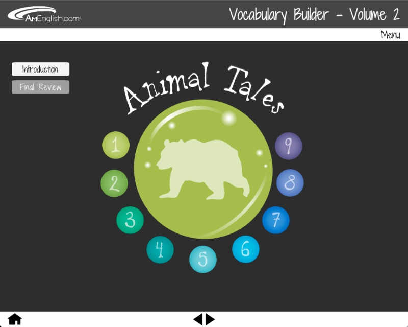 Vocabulary Builder: Animal Tales